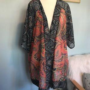 NWT Style & Co shawl, size 1X!